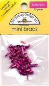 Bubblegum Mini Brads by Doodlebug