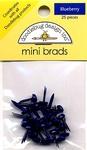 Blueberry Mini Brads by Doodlebug