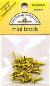 Bumblebee Mini Brads by Doodlebug