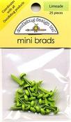 Limeade Mini Brads by Doodlebug