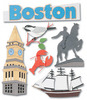 Boston  Stickers - Jolee's Boutique
