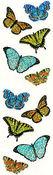 Sparkle Butterflies - Mrs Grossman's Stickers