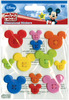 Mickey Icon Adhesive Buttons