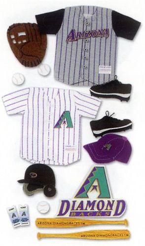 Arizona Diamondbacks MLB Stickers