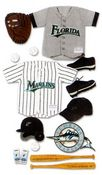 Florida Marlins MLB Stickers