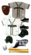 Tampa Bay Devil Rays MLB Stickers