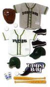 Tampa Bay Devil Rays MLB Stickers