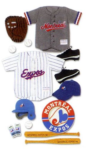 Montreal Expos MLB Stickers
