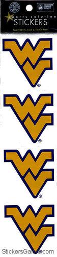 West Virginia Logo Stickers