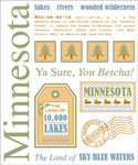 Minnesota Say It Sticker