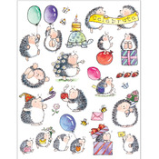 Bouncing With Joy! Sticker Sheet - Penny Black