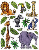 Jungle Fever Stickers