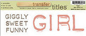 Girl Title