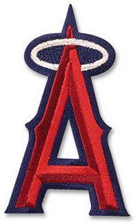 Anaheim Angels Embroidered Logo