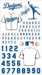 LA Dodgers MLB Stickers