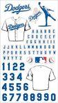 LA Dodgers MLB Stickers