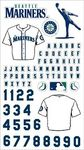 Seattle Mariners Stickers MLB Stickers