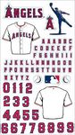 Anaheim Angels MLB Stickers