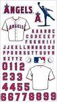 Anaheim Angels MLB Stickers
