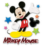 Mickey Walking 3D Disney Stickers - EK Success