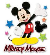 Mickey Walking 3D Disney Stickers - EK Success