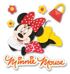 Minnie 3D Disney Stickers - EK Success