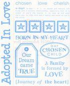 Adoption Boy Say It Stickers