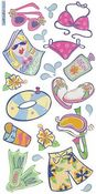 Life's A Beach Stickers