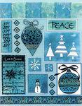 Let it Snow Stickeroos - Penny Black