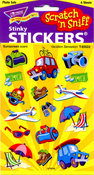 Vacation Sensation Scratch n Sniff Stickers