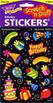 Big Birthday Scratch n Sniff Stickers