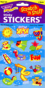 Water Play Scratch n Sniff Stickers