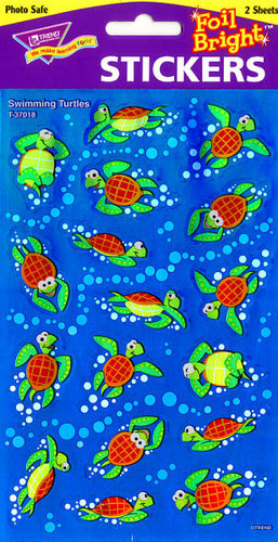 Swimming Turtles Stickers by Trend