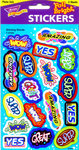 Shining Words Stickers by Trend