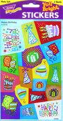 Happy Birthday Stickers by Trend