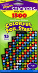 Foil Stars Super Pack Stickers by Trend