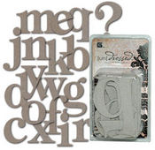 [un]dressed? Chipboard Monograms by Basic Grey