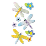 Dragonflies - Jolee's Epoxy Stickers