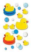 Rubber Duckies - Jolee's Epoxy Stickers