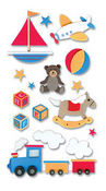 Baby Toys 3D Stickers