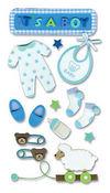 Baby Boy Foam Stickers - Jolee's