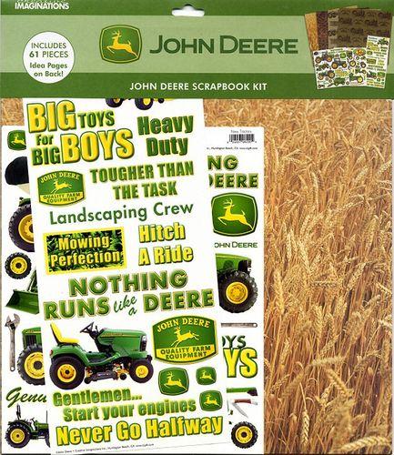 Creative Imaginations John Deere John Deere Scrapbook Kit A