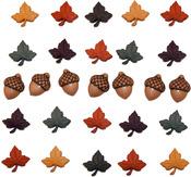 Fall Medley Buttons