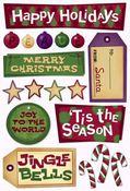 Happy Holidays Stickers by Karen Foster