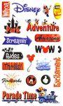 Disney Adventure Gems Stickers
