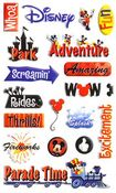 Disney Adventure Gems Stickers