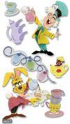 Mad Tea Party Stickers - Disney