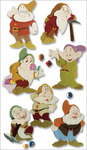 The Seven Dwarves Stickers - Disney