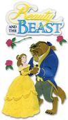 Beauty & The Beast Stickers - Disney