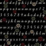 Font - 3 Bugs In A Rug